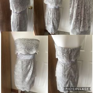 Laundry By Design Strapless Lace Cocktail Dress